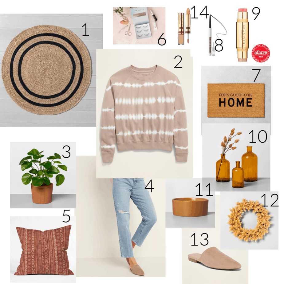 Fall favorites clothing and home decor