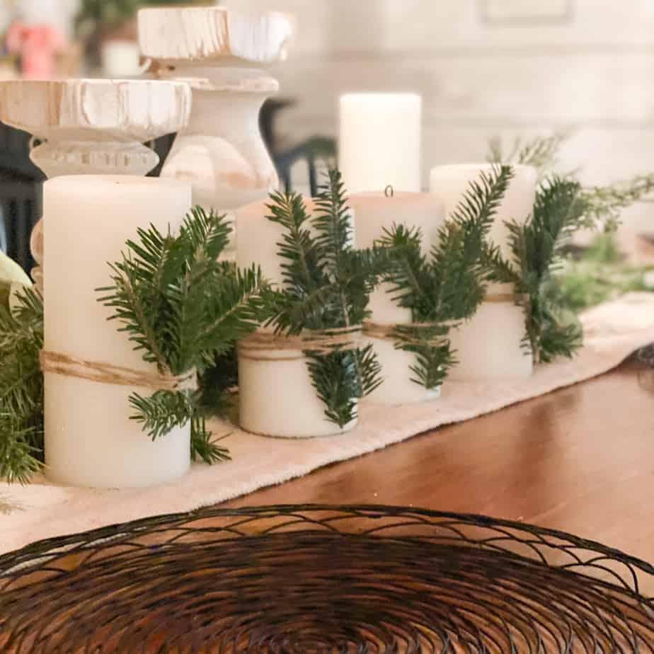 DIY Advent candles